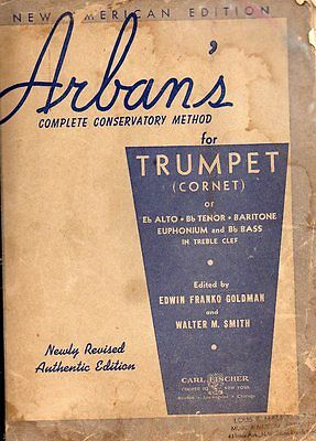 Arban's  complete conservatory method New American Edition for Trumpet (cornet)
