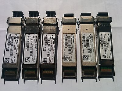 Nortel pack 6 unit x AA1403001 10Gbase-LR,LW Multirate XFP Transceiver 10G
