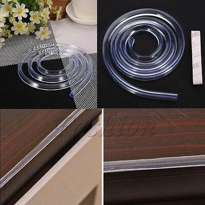Baby Safety Table Desk Edge Corner Protector Cushion Guard Strip Soft Bumper 1M