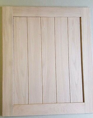 Hand Made Replacement Kitchen Doors Solid  Oak M Ref; Cabinets