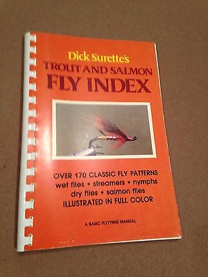 Dick Surette's Trout And Salmon Fly Index