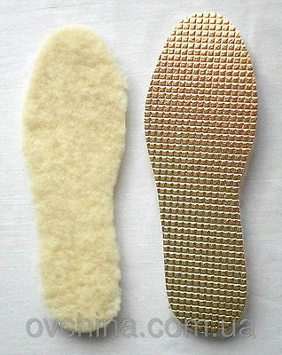 Thermal Sheepskin Lamb Fur Insoles Shoes Boots Winter Men Woman Unisex All sizes