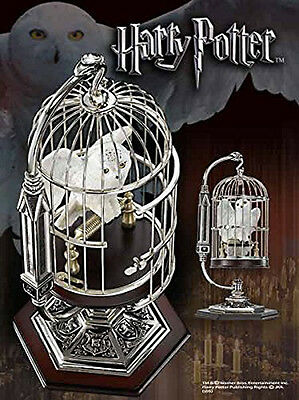 Harry Potter : Miniature Hedwig and Cage With Display Stand - Noble