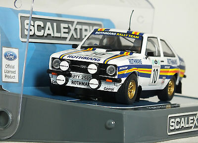 """1:32 SCALEXTRIC """"MK2 FORD ESCORT RS1800"""" 'ROTHMANS' A.VATENEN RALLY 1980 Hornby"""
