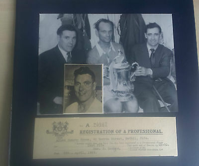 1949-50 Professional Football Agreement - Allan Brown - East Fife - Rare Item