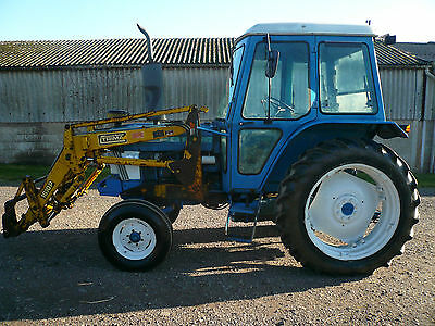 Ford Tractor 6610 / Tractor and Loader / Tractor 2WD