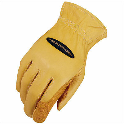 Size 08 Heritage Ranch Work Gloves Horse Equestrian