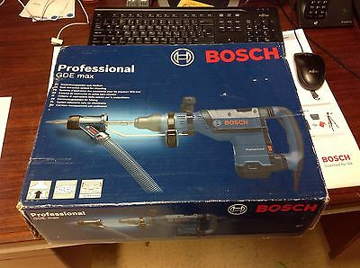 Bosch Gde Max Dust Extraction System For Chiseling