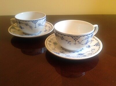 2 Furnivals Denmark cups and saucers