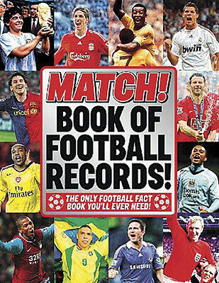 Match! Magazine Book of Football Records - Illustrated Facts and Figures book