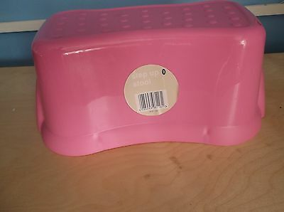 Essential Step Up Stools In Pink Childrens,kids First Steps,home,bathroom New