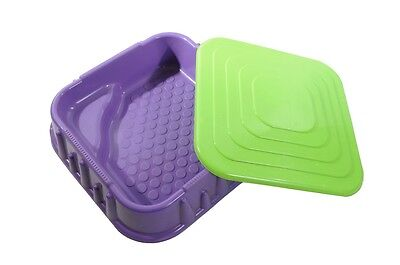 SANDPIT or PADDLING POOL WITH LID INDOOR OR OUTDOOR GREAT PRESENT