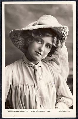 A1198     Miss Gabrielle Ray  .   Edwardian Stage Actress      Rotary  4988.D