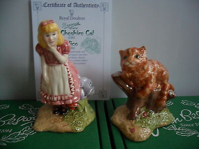 Beswick Alice and the Cheshire Cat..Limited Edition Boxed With Certificate