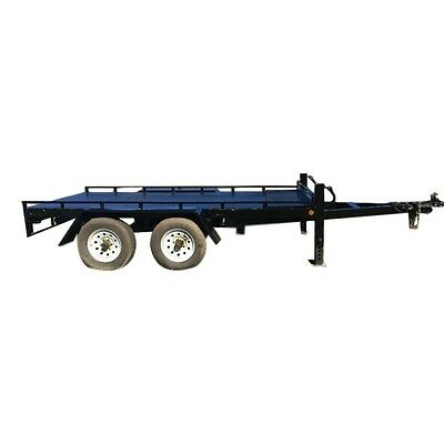 14ft (4m) by 7ft (1.8m) Plant Machinery Trailer 4.5 Tonne Tandem Axle HALF PRICE
