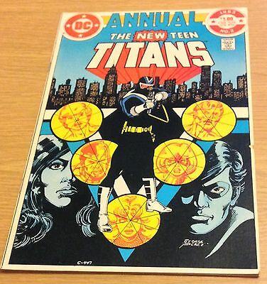 THE NEW TEEN TITANS Comic Annual (DC #2) 1983