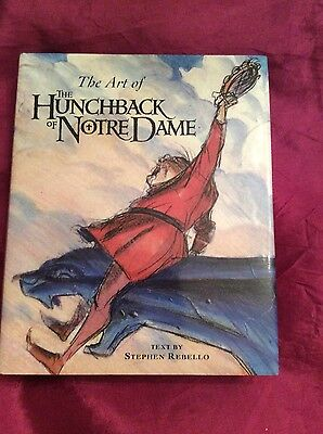 Disney-The Art of The Hunchback of Notre Dame/Miniature Book OOP