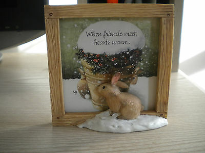 MARJOLEIN BASTIN 3D Friendship Picture Frame Rabbits & Potted Holly