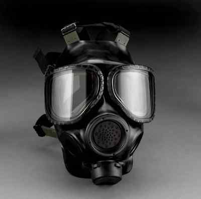 3M FR-M40-10 Full Face Piece Respirator (Small)