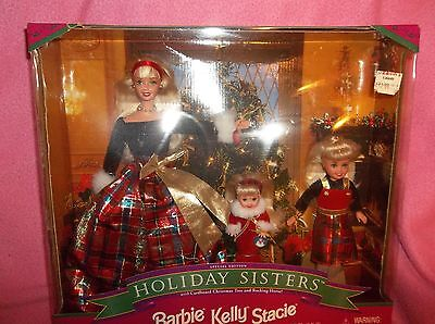 Holiday Sisters Kelly Stacie Special Edition 1998 Barbie Doll