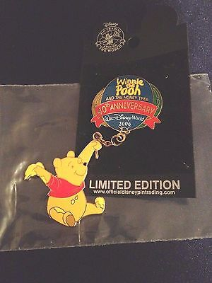 Disney Pin - Winnie the Pooh and the Honey Tree - 40th Anniversary - WDW LE New