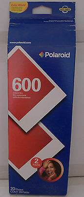 Polaroid Instant Camera 600 Color Film -04/2009 Exp Date Sealed 2-Pack
