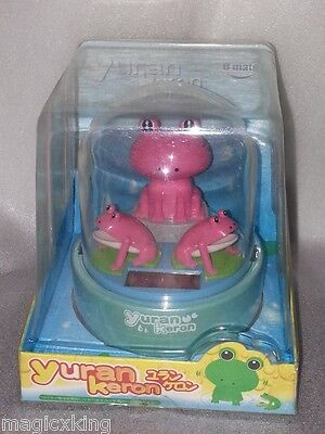 Triple Frog Pink Nohohon Solar ECO Japan Figure Limited Version Very RARE