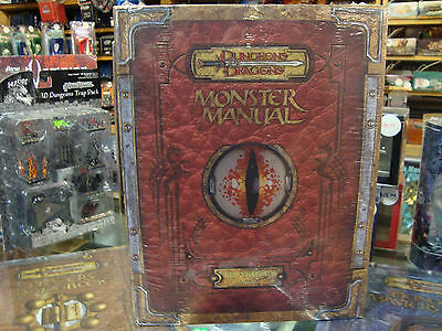 Premium New Dungeons & Dragons 3.5 Monster Manual Errata D&D Hardcover New