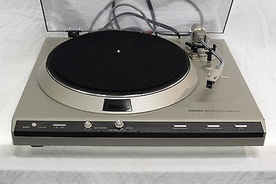 Denon DP-33F Direct Drive Turntable - Rare High End Record Player - SERVICED