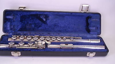 Artley Flute - 5-0 - Open Holed Flute - with Case - SERVICED
