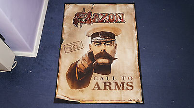 Saxon - Call to Arms - UK Promo Poster