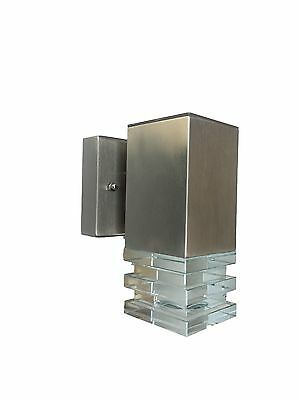 LED Outdoor External Sconce Security Square Decorative Garden Wall Light