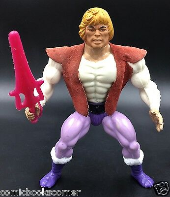 He-Man & Masters of the Universe Vintage 1984 PRINCE ADAM Near Complete Mattel