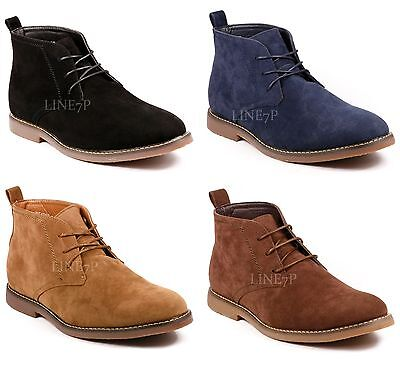 Men's Lace Up Casual Fashion Ankle Chukka Boots