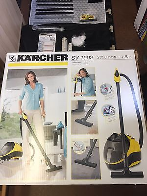 Karcher SV 1902 Vacuum / Steam Cleaner Multi Surface - as new