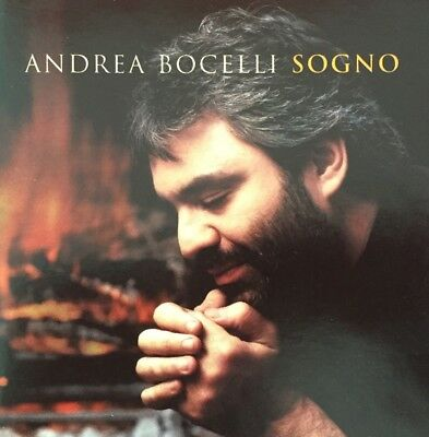 ANDREA BOCELLI Sogno CD.  Brand New & Sealed
