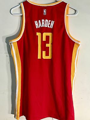 c9f7b68d5 RED ADIDAS JAMES Harden Houston Rockets Jersey Youth Boys S Small 8 ...