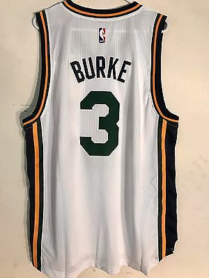 ADIDAS SWINGMAN 2015-16 NBA Jersey Utah Jazz Trey Burke Green sz XL ... 5e8b59180