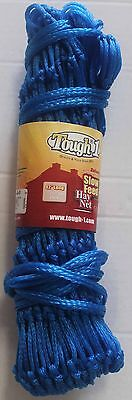 Horse Slow Feed  Equine HAY NET BAG Tough 1 Blue 60907