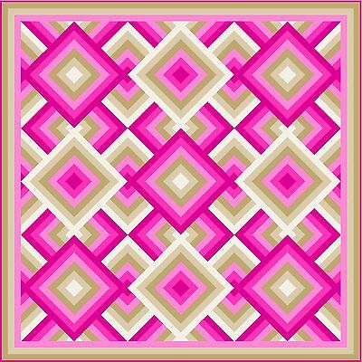 """WHATCHAMACALLIT - 113.5"""" - Pre-cut Quilt Kit by Quilt-Addicts Large King"""