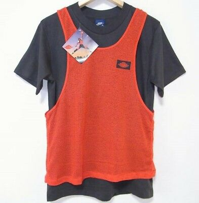 Air Jordan Nike Vintage 80s New T Shirt with Tags Made In USA Very Rare Jumpman