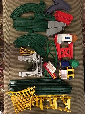 Geo Trax New Train In Town Set Incomplete Lot Pieces Tracks