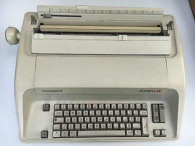 Olympia Compact S Electric Typewriter AG Made in Germany