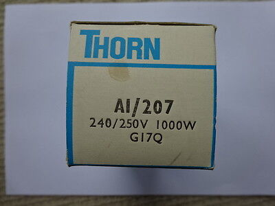 THORN A1/207 240v 1000w (G17Q) Projector Lamp (Post Free).