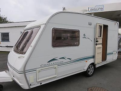 Swift Challenger 480 , Luxurious 2 Berth Touring Caravan With End Washroom......