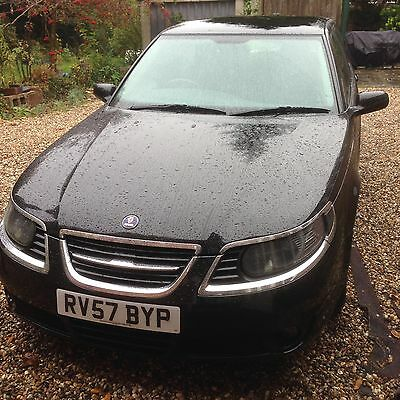 Saab 9-5 Vector Diesel Auto 1.9 TiD Black Solid Reliable Family Estate 68k