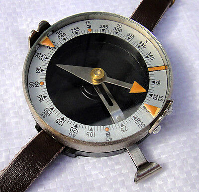Genuine Soviet Russian Military Army Officer Hand Wrist Compass New Surplus