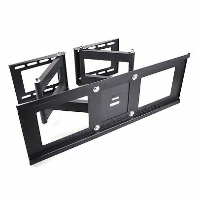 """Double Arm Monitor Desk Table Mount Stand Bracket Fr 2 LCD Swivel Clamp upto 32"""""""