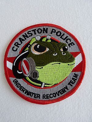 USA, Police; Patch; CRANSTON Police; Dive Team; NEW