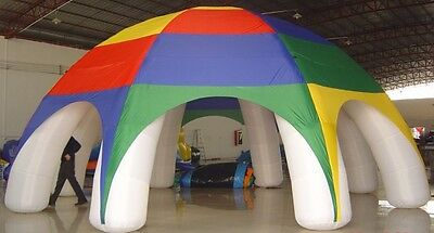 Inflatable Marquee. Spider Tent Advertising. Dome Tent. Free Worldwide Delivery